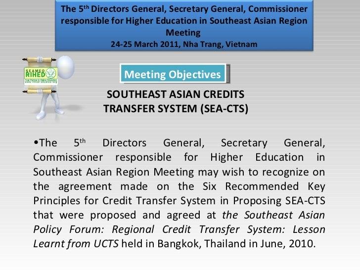 Sea Ctscredit Transfer System