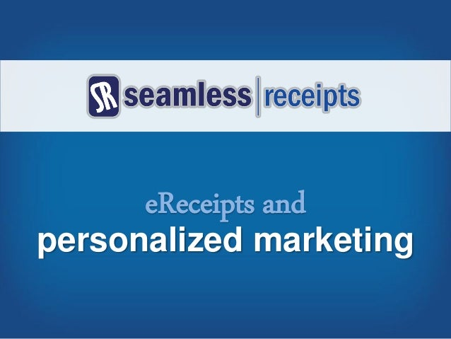 personalized marketing eReceipts and
