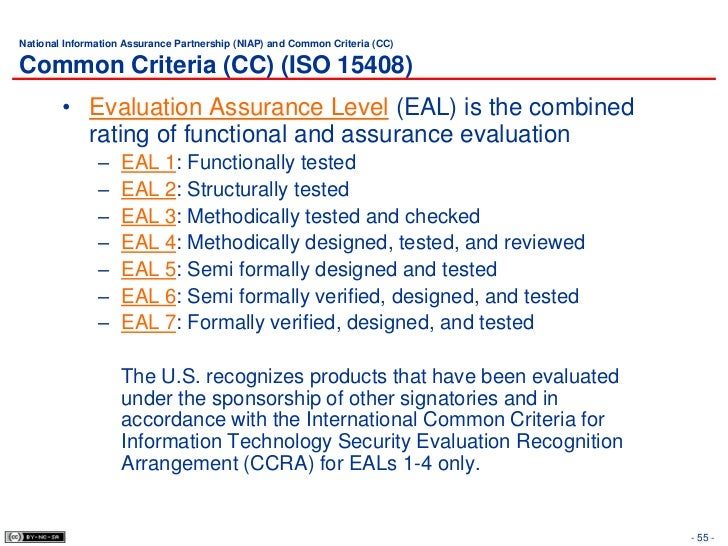 Information technology - Security techniques - Evaluation criteria for IT security iso15408-1