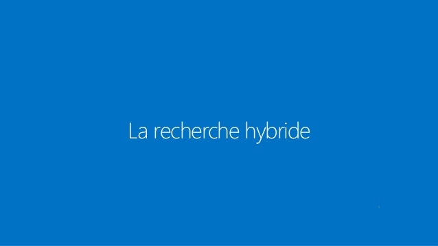 Rex architecture hybride office 365 azure ad for Architecture hybride