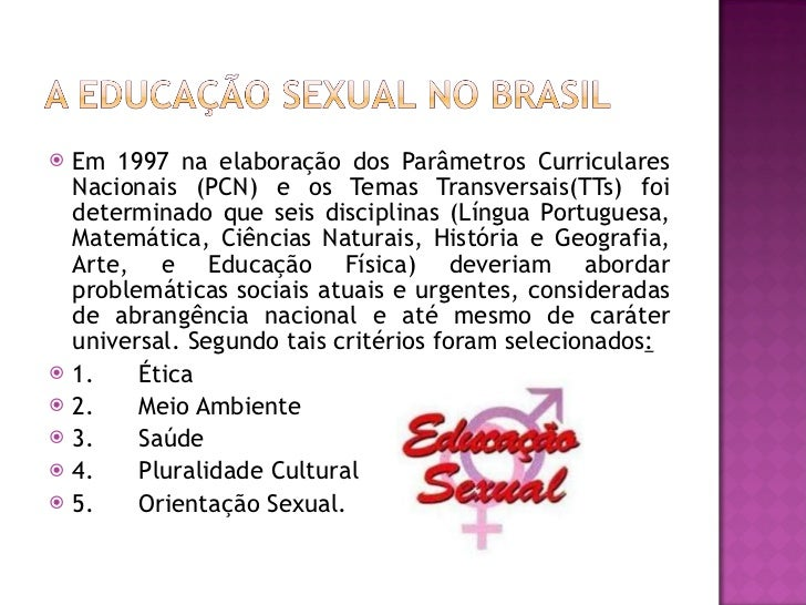<ul><li>Em 1997 na elaboração dos Parâmetros Curriculares Nacionais (PCN) e os Temas Transversais(TTs) foi determinado que...
