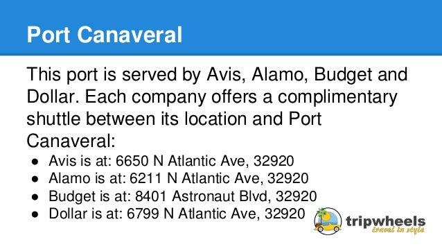 Alamo Rental Car Atlantic Blvd