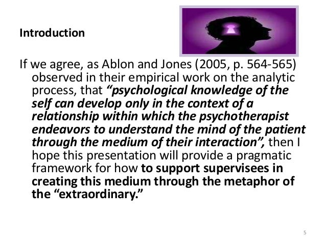 Introduction If we agree, as Ablon and Jones (2005, p. 564-565) observed in their empirical work on the analytic process, ...