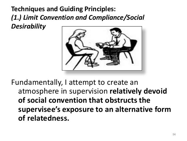 Techniques and Guiding Principles: (1.) Limit Convention and Compliance/Social Desirability Fundamentally, I attempt to cr...