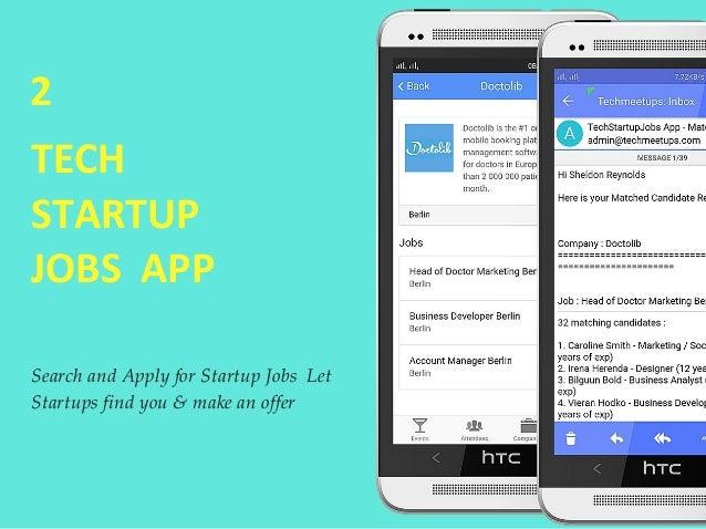 TechMeetups startup job fair berlin