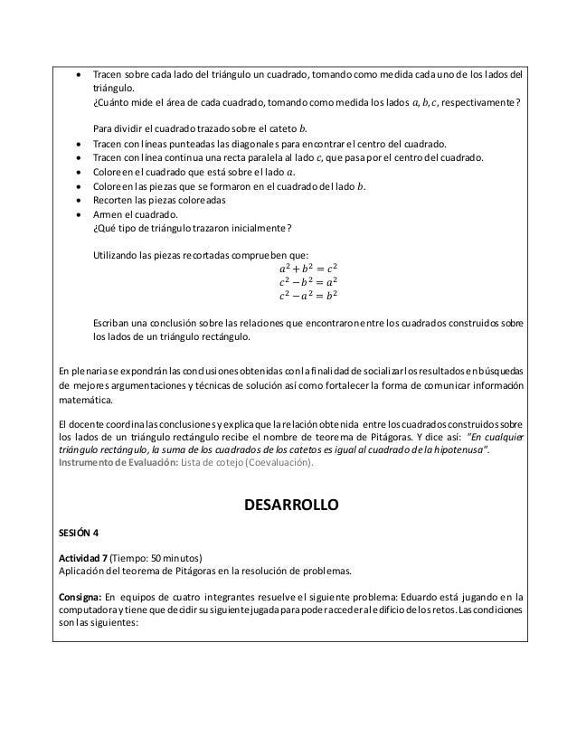 2 situación didáctica matematicas