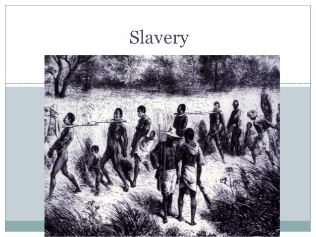 slavery and the civil rights movement 2016 Slide 2
