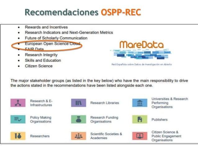 Recomendaciones OSPP-REC