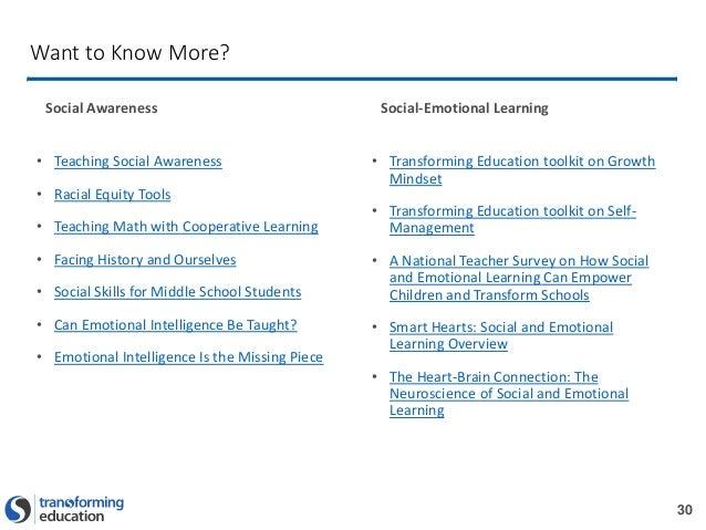 Students and social awareness