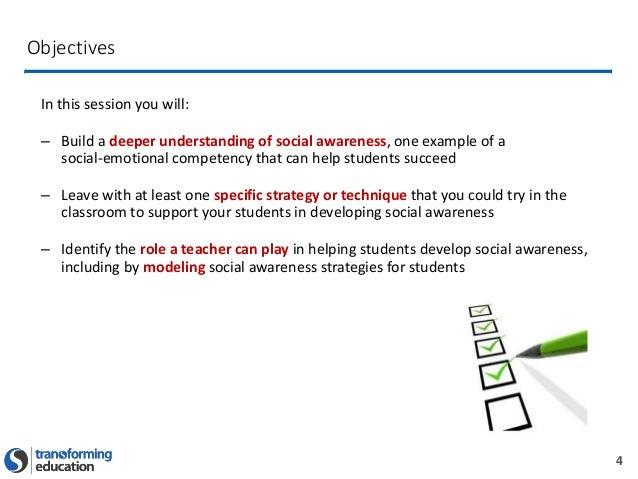 How To Build A Growth Mindset For Teachers >> Social Awareness Presentation