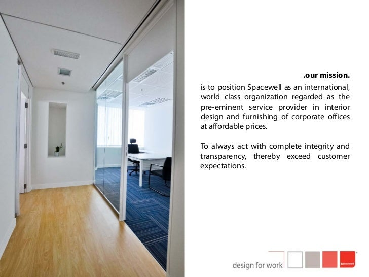 Spacewell Interiors Profile Slide 3
