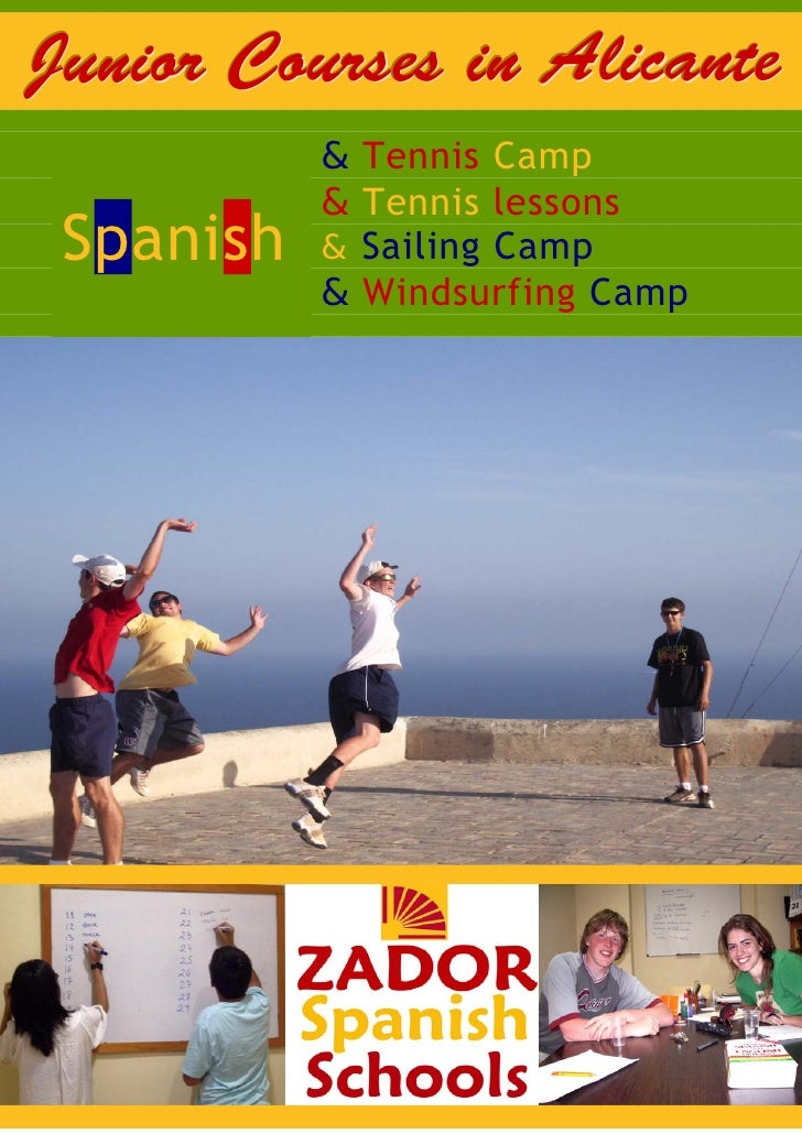 Junior Courses in Alicante                & Tennis Camp      Spanish                & Tennis lessons      Spanish  Spanish...