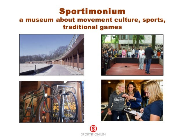 Sportimonium a museum about movement culture, sports, traditional games
