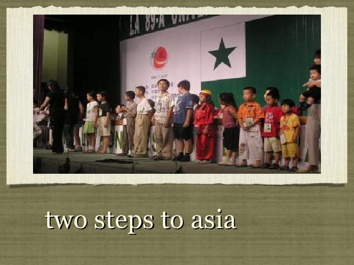 two steps to asia