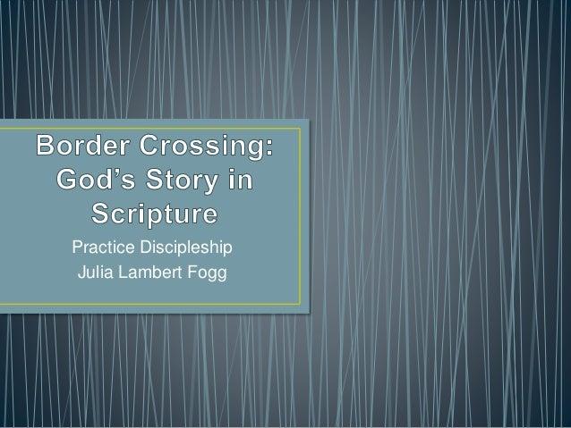 Practice Discipleship Julia Lambert Fogg