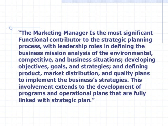 strategic marketing the role of relationship An important role for internal marketing tony conway university of salford, united kingdom strategic marketing, performing arts, relationship marketing relationship marketing involves more than just relationships between buyer and seller but with.