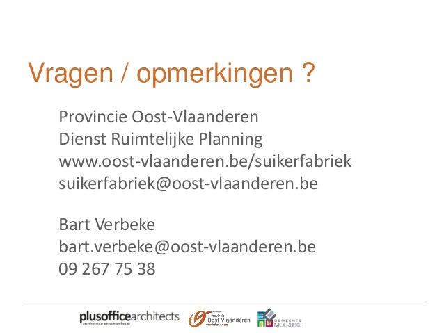 Sectormoment Waasland – Durme en Moervaart - Suikersite