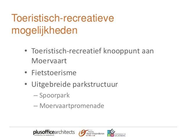 Toeristisch-recreatief knooppunt aan Moervaart • Plezierhaven • Ontmoetingscentrum • Mogelijkheid tot hotel in koetshuis •...