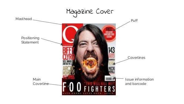 Codes And Conventions Of Music Magazine Covers