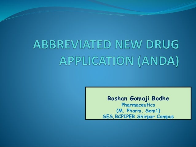 Roshan Gomaji Bodhe Pharmaceutics (M. Pharm. Sem1) SES,RCPIPER Shirpur Campus