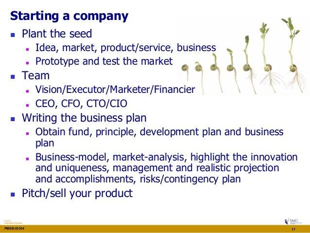 technopreneurship business plan sample