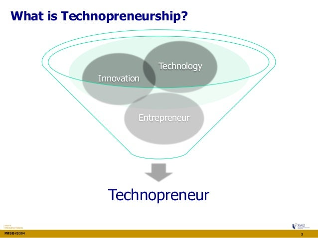 what is technopreneurship Training workshop on technopreneurship for women in science, technology and innovation.