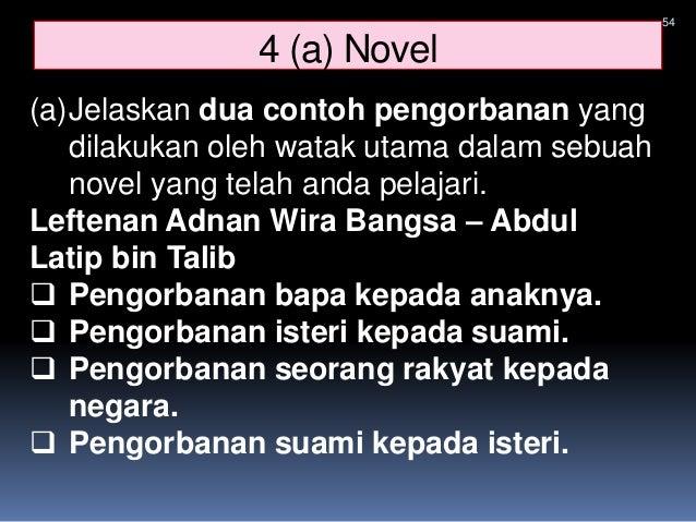 Contoh Jawapan Novel Perbandingan   Anirasota