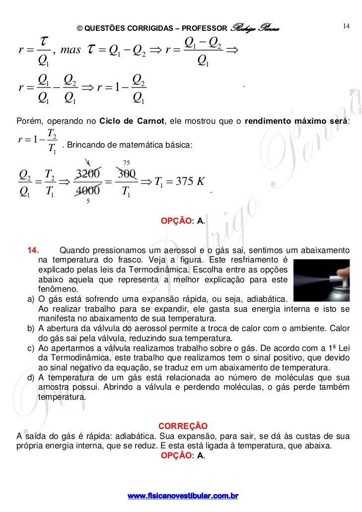 Termodinamica explicação
