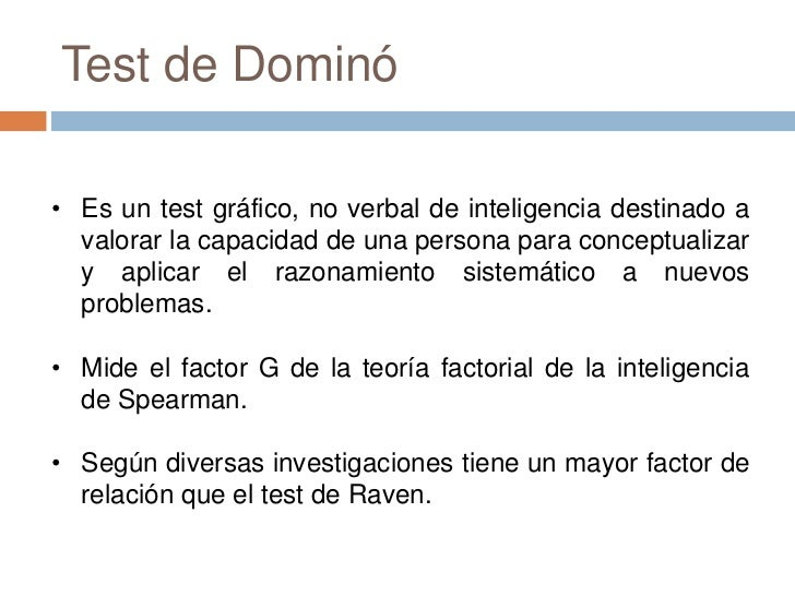 TEST DEL DOMINO D48 PDF DOWNLOAD