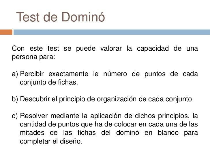 2 test de domino (d48)