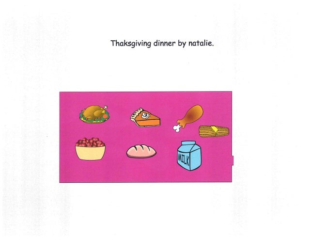 Thanksgiving Dinners by Mrs. Suber's Class