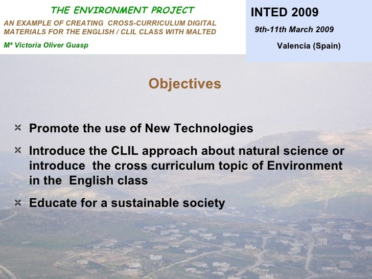 Example of environmental project