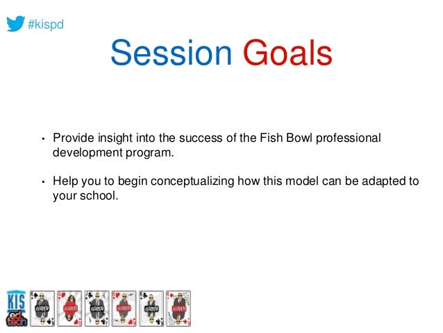 Professional Development that works: Continuous and Ongoing Professional Learning in The Fish Bowl Slide 3