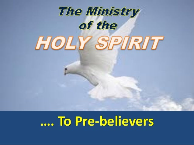 …. To Pre-believers