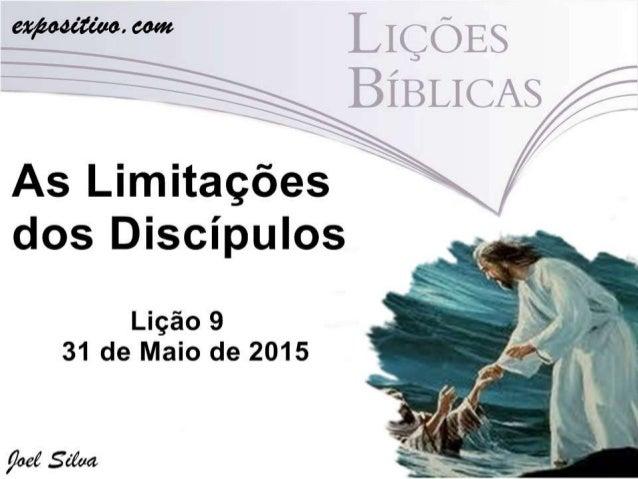 VERDADE PRÁTICA • Ao longo de seu ministério, Jesus foi seguido por homens simples, imperfeitos e limitados, mas jamais os...