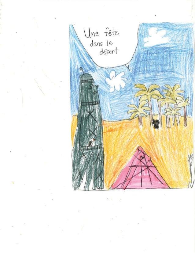 Troisième classe gagnante du concours Petits écrivains, petites écrivaines Nathan 2016 2017 - Une fête dans le désert - Éc...