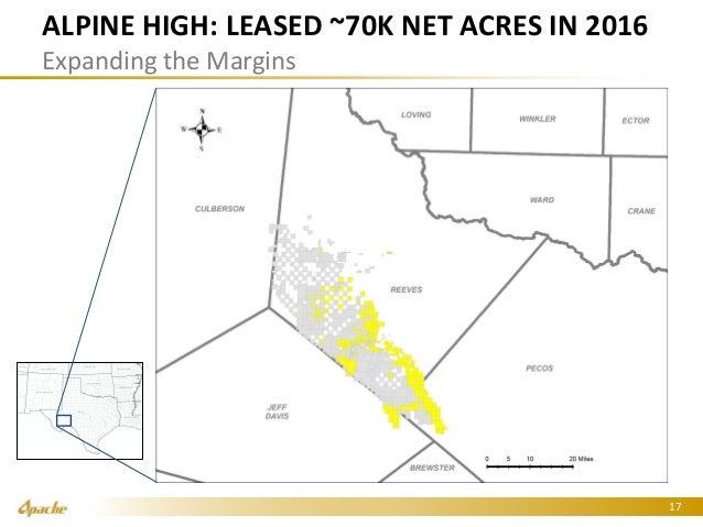 Apache Alpine High 2016 0907 Barclays Ir Presentation