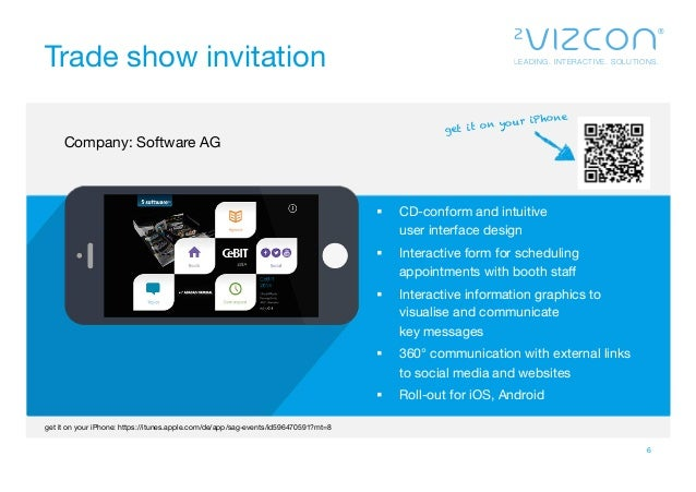 2vizcon Event The Interactive Application For Trade Shows And Events