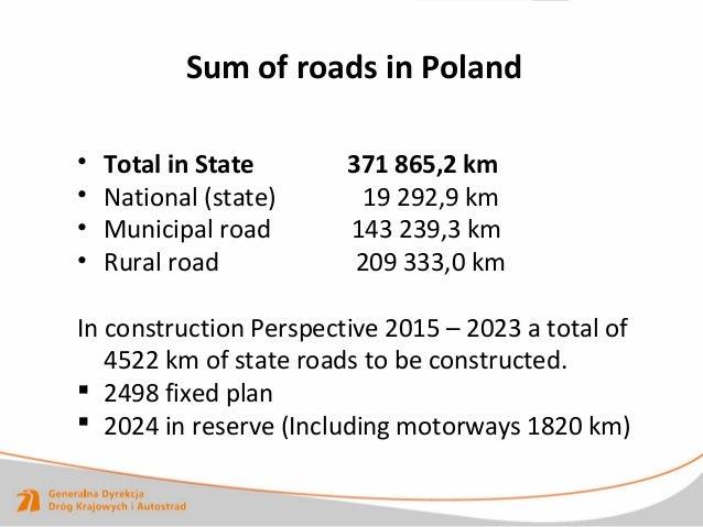 """Waclav Michalski """"Kuidas jõuti Poola kaasaegsete betoonteede rajamiseni ja Poola Maanteeameti roll selles"""" Slide 3"""