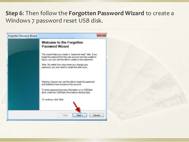 how to put a password on a usb windows 7
