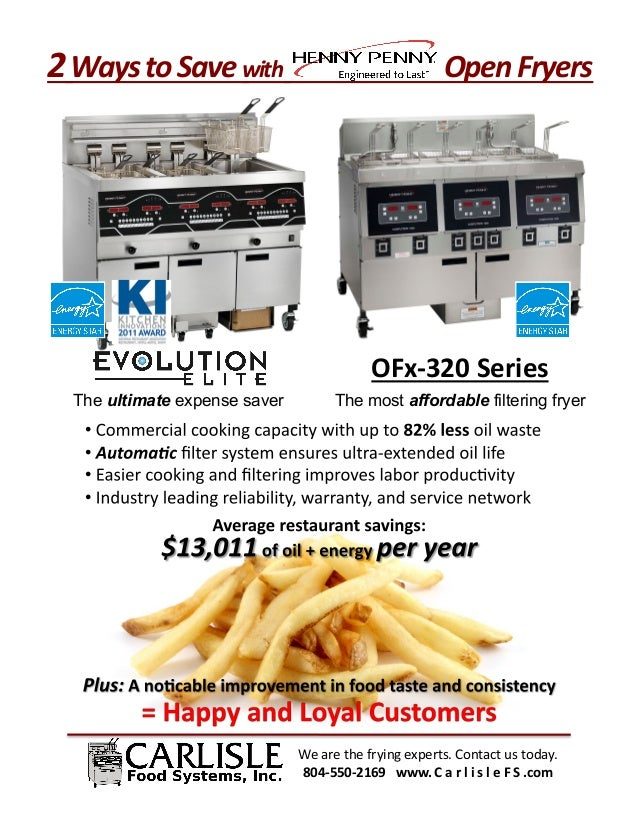 2	  Ways	  to	  Save	  with	  	  	  	  	  	  	  	  	  	  	  	  	  	  	  	  	  	  	  	  	  	  	  	  	  	  	  Open	  Fryers	...