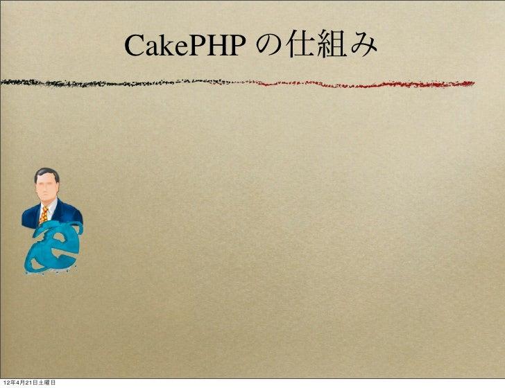 CakePHP の仕組み12年4月21日土曜日