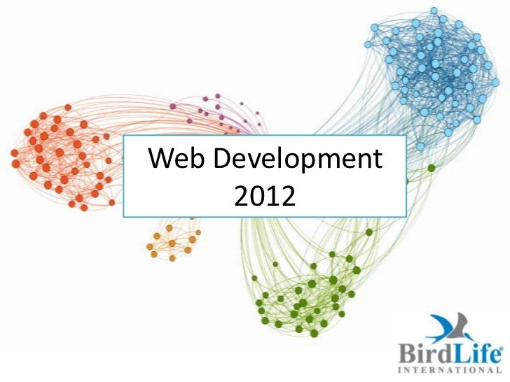 Web Development     2012