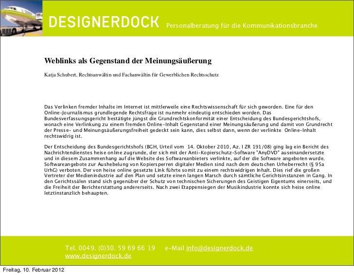 ∂                                                  Personalberatung für die Kommunikationsbranche                Weblinks ...