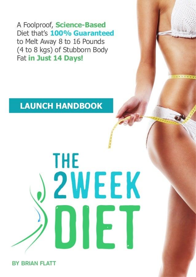 2 Week Slim Down Diet