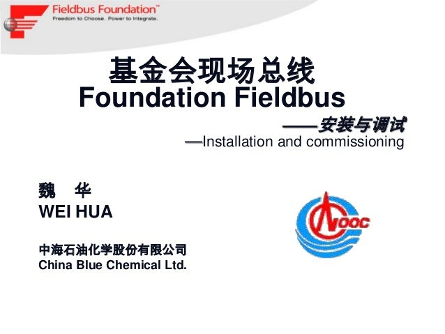基金会现场总线      Foundation Fieldbus                                    ——安装与调试                       —Installation and commis...