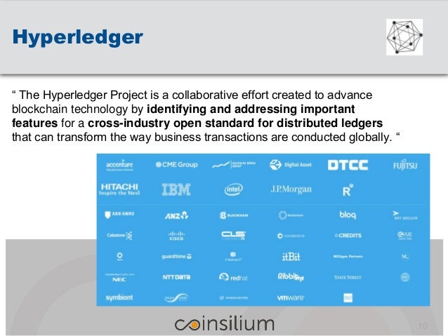 """"""" The Hyperledger Project is a collaborative effort created to advance blockchain technology by identifying and addressing..."""