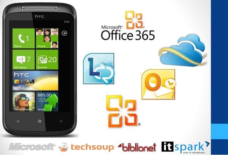 Office Hub – Team Site Este singurul telefon cu Office Mobile; Are versiunile mobile ale Word, Excel și PowerPoint ; No...