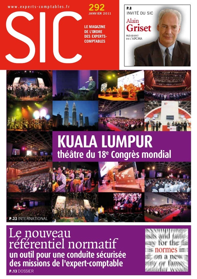 w w w . e x p e r t s - c o m p t a b l e s . f r Le Magazine de l'Ordre des Experts- Comptables 292JANVIER 2011 p.22 INTE...