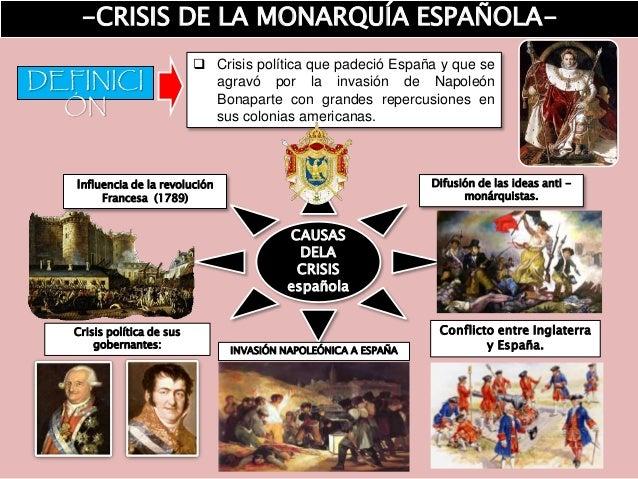 Crisis de la Monarquía Española Slide 2